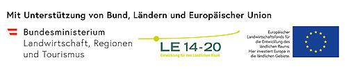 Netzwerk Zukunftsraum Land wird finanziert von Bund, Ländern und europäischer Union