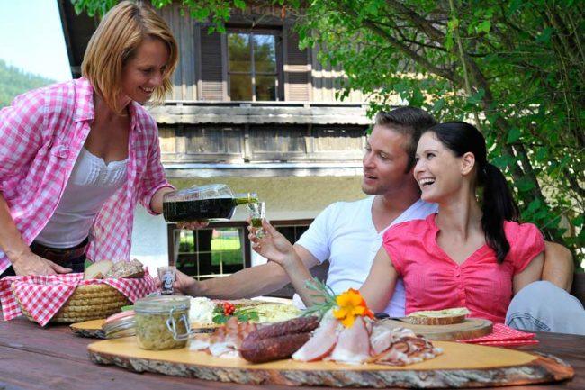 Kulinarik und Genuss direkt am Betrieb